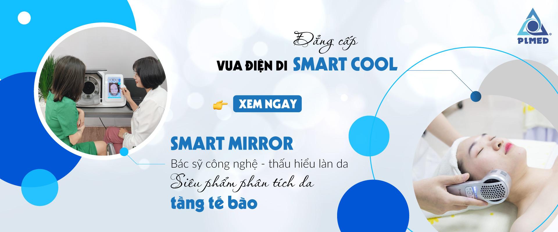 Thiết bị thẩm mỹ điện di Smart Mirror